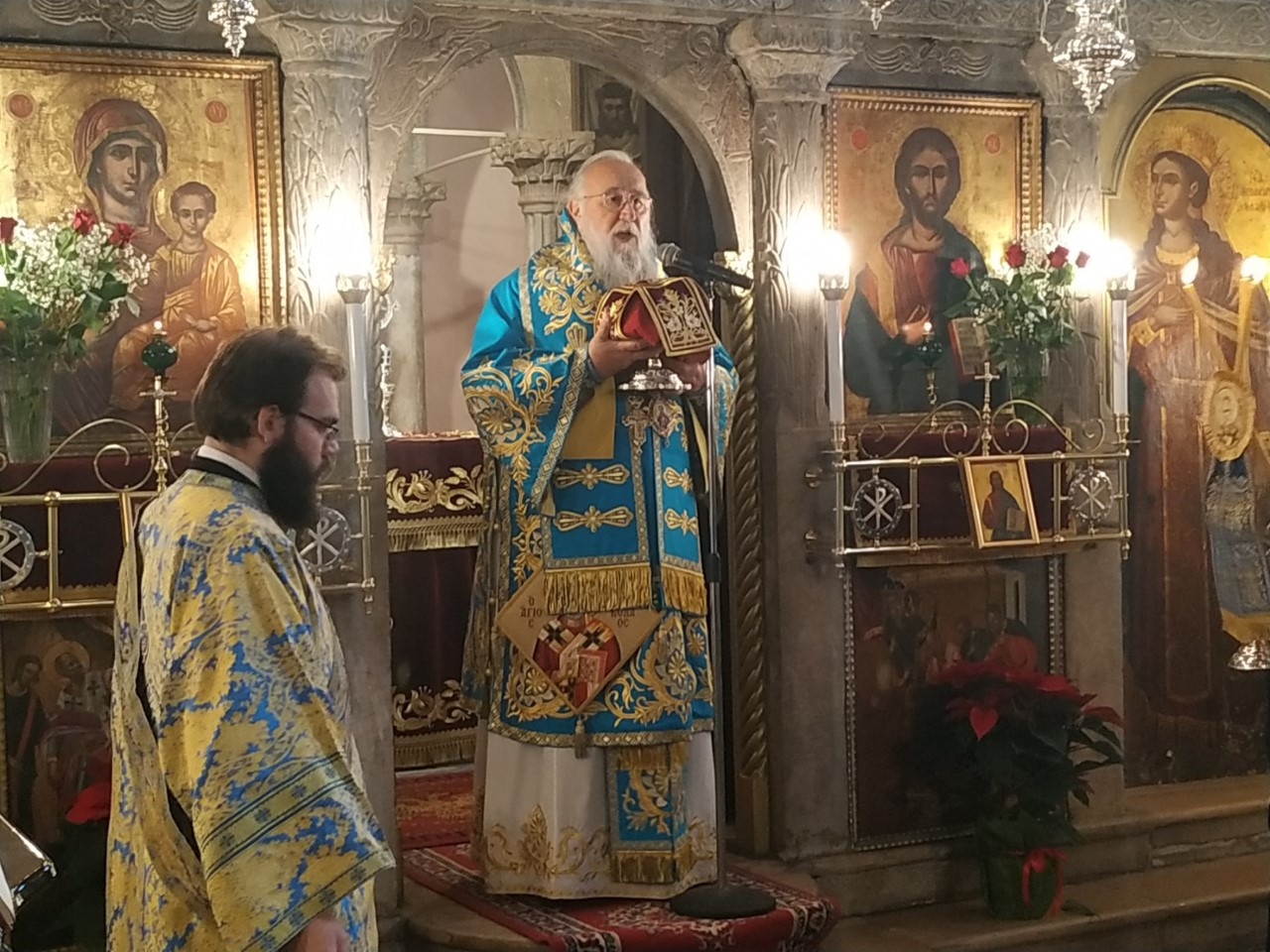 You are currently viewing Κερκύρας Νεκτάριος:  Τραγική ειρωνεία οι άρχοντες να εμποδίζουν τον λαό να τιμήσει τους Αγίους!