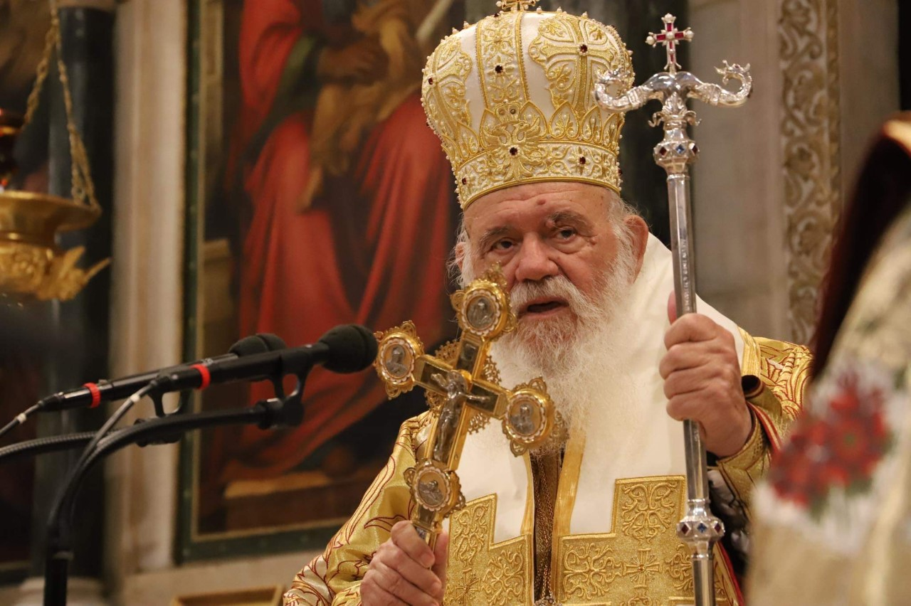 You are currently viewing Η Χριστουγεννιάτικη θεία λειτουργία στη Μητρόπολη  Αθηνών