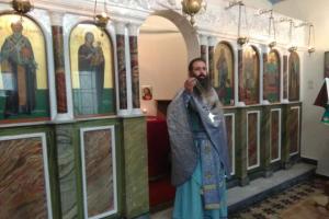 Εορτάστηκε η μνήμη του Αγίου Σπυρίδωνος στο Παρεκκλήσιο του Μητροπολιτικού Ναού Χίου