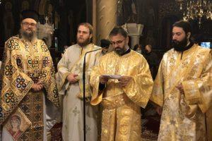 Δύο νέοι διάκονοι κι ένας πρεσβύτερος στην Μητρόπολη Καισαριανής