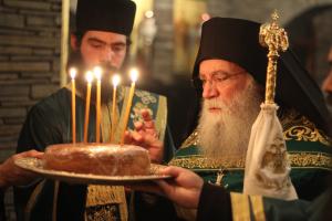 Εορτή Οσίου Σεραφείμ του Σάρωφ στο Τρίκορφο της Φωκίδος