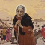 Η  oσία Ξένη η δια Χριστόν σαλή θεραπεύει, δίνει λύσεις σε προβλήματα, εμφανίζεται