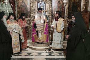 Κουρά νέου Μοναχού στην Ιερά Μονή Ταξιαρχών  Αιγιαλείας