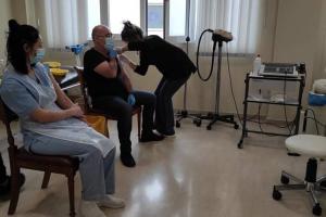 Εμβολιασμός για τον κορονοϊό στο ίδρυμα χρονίως πασχόντων στην Κέρκυρα