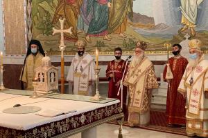 Οι ευχές των Ορθοδόξων της Αλβανίας στον Αρχιεπίσκοπο Αναστάσιο
