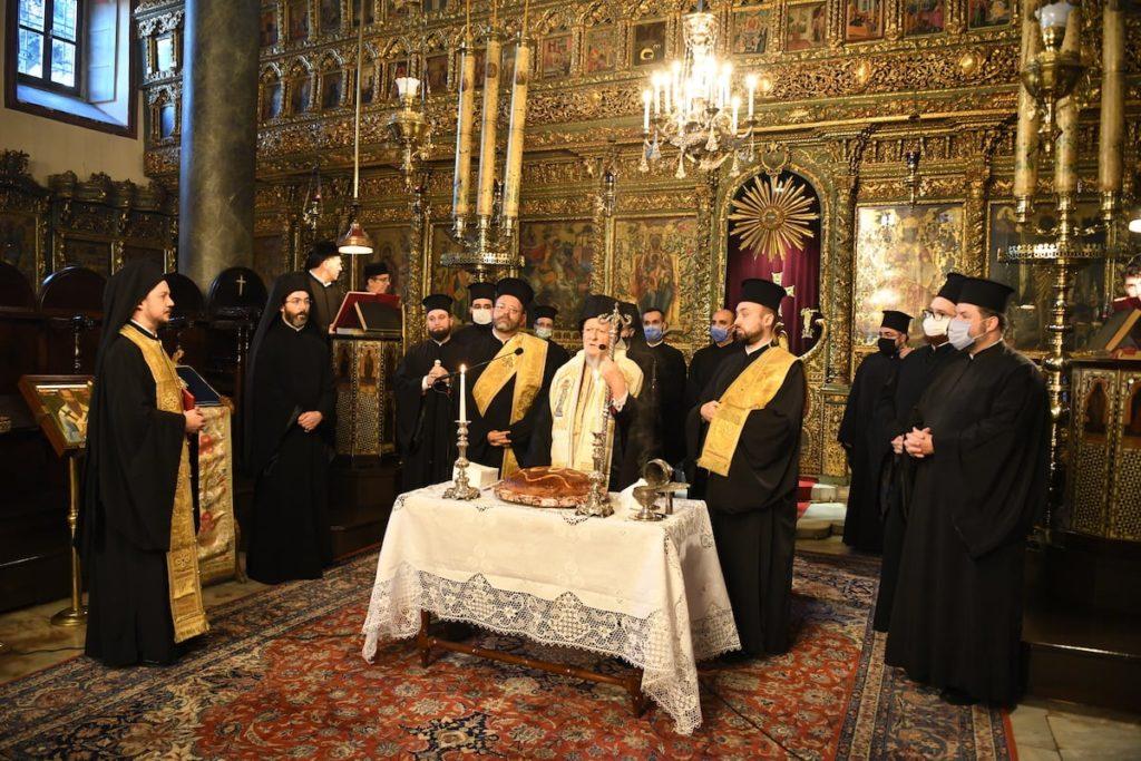 Η εορτή της Περιτομής του Κυρίου και του Αγίου Βασιλείου στο Φανάρι
