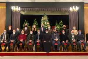 Οι Κοινότητες του Βοσπόρου υποδέχθηκαν τον νέο Επόπτη της περιφέρειας Μητροπολίτη Κυδωνιών κ. Αθηναγόρα