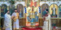 Ο Μητροπολίτης Ιερισσού στον Ι. Ν. Τιμίου Προδρόμου Νέας Μαδύτου