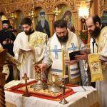 Αρχαιοπρεπής Θ. Λειτουργία του Αγίου Γρηγορίου του Θεολόγου στην Κομοτηνή από τον Σεβ. Μαρωνείας Παντελεήμονα
