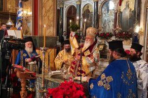 ΤΡΙΠΟΛΗ: Ο εορτασμός των Αγίων Θεοφανείων