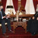 Στον Αρχιεπίσκοπο Ιερώνυμο ο Περιφερειάρχης Δ. Μακεδονίας Γεώργιος Κασαπίδης