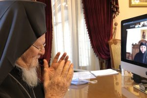 Ο Οικουμενικός Πατριάρχης σε διαδικτυακή Σύναξη Νέων που διοργάνωσε η Ι. Μονή Ζωοδόχου Πηγής-Χρυσοπηγής Χανίων