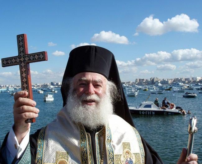 Ούτε ο Πατριάρχης Αλεξανδρείας Θεόδωρος θα ρίξει τον Σταυρό στη θάλασσα