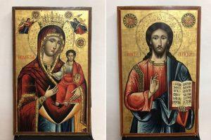 Δύο εικόνες που είχαν κλαπεί από Μοναστήρι της Καρδίτσας επιστρέφουν στην προγονική τους εστία