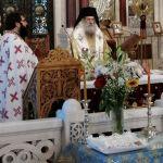 Η αρχαιοπρεπής Θεία Λειτουργία του Αγίου Γρηγορίου του Θεολόγου στον Πειραιά