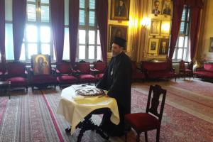 Κοπή Πρωτοχρονιάτικης Πίτας στη Θεολογική Σχολή Χάλκης