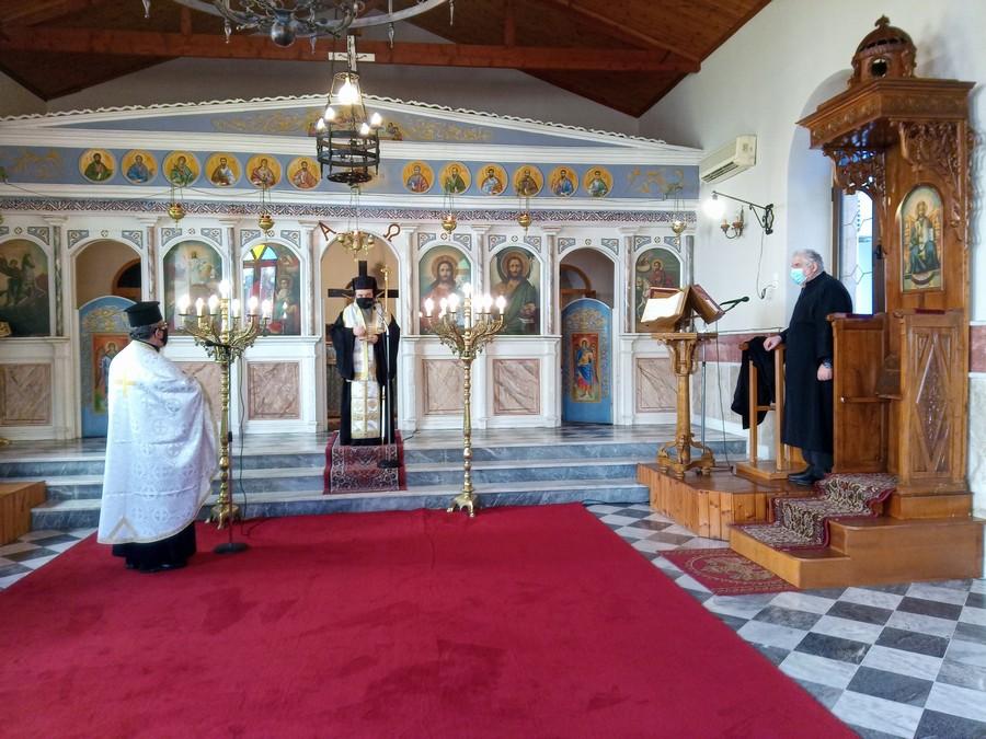 Tρισάγιο για τον μακαριστό Αρχιμ. Γρηγόριο Μουσουρούλη στην Χίο