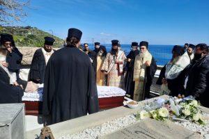 Κοίμηση Προηγουμένου Ι. Πατριαρχικής και Σταυροπηγιακής Μονής Οδηγητρίας Γωνιάς