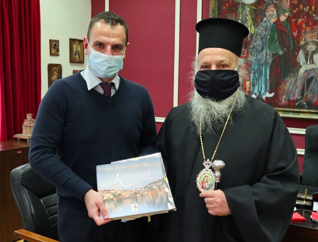 Στον Δήμαρχο Καστοριάς ο Μητροπολίτης Γρεβενών Δαβίδ, Τοποτηρητής της Ι. Μ. Καστορίας