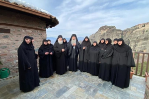 Η Μοναχή Χαριτίνη νέα Καθηγουμένη της Ιεράς Μονής του Ρουσάνου