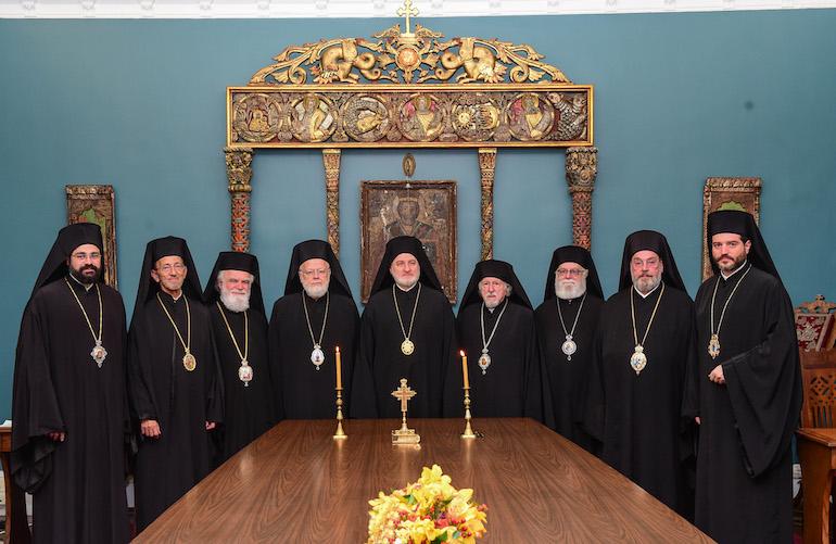 Οι αποφάσεις της Επαρχιακής Συνόδου της Αρχιεπισκοπής Αμερικής- Τοποθέτησαν τον Μηδείας Απόστολο Τοποτηρητή της Ι Μ. Νέας Ιερσέης