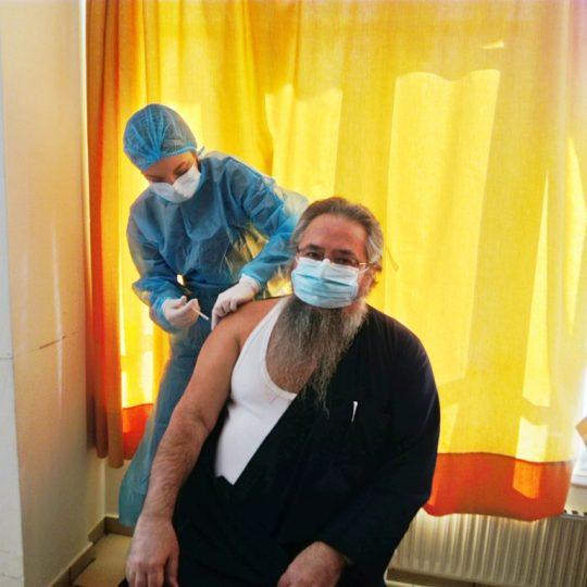 Το εμβόλιο κατά του κορονοϊού έκανε ο Μητροπολίτης Λευκάδος