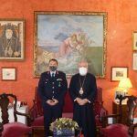 Τον Σεβ.Μητροπολίτη Σύρου Δωρόθεο επεσκέφθη ο νέος Αστυνομικός Διευθυντής της Περιφέρειας