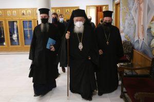Η  παρουσίαση του ειδικού  μεταλλίου της Εκκλησίας της Ελλάδος  για τα 200 χρόνια από την επανάσταση του 1821