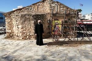 Ο ερειπωμένος  Άγιος Γεώργιος στο Περιστέρι «εκπέμπει» SOS …