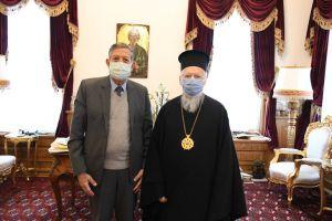 Επίσκεψη του στελέχους της UNESCO Μounir Bouchenaki, στο Οικουμενικό Πατριαρχείο