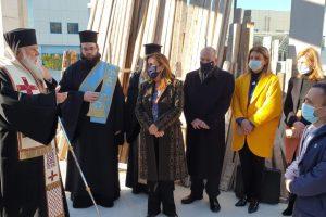 Ο Μητροπολίτης Κερκύρας Νεκτάριος θεμελίωσε ναό στο νοσοκομείο της  Κέρκυρας
