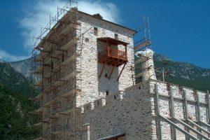 Φωτοβολταϊκά, βιολογικοί καθαρισμοί και αποκαταστάσεις κτιρίων στο Άγιον Όρος- Οργασμός εργασιών