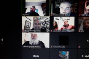 Διαδικτυακή συνάντηση της σχολής γονέων της Μητροπόλεως Κερκύρας