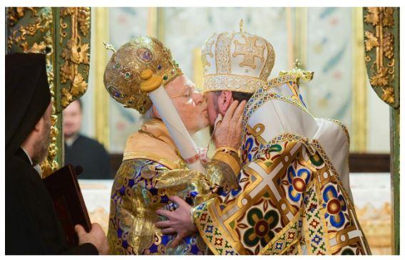 Κιέβου Επιφάνιος προς Οικουμενικό Πατριάρχη Βαρθολομαίο: «Τα μοχθηρά και άδικα σχέδια των εχθρών σας δεν πέτυχαν και δεν θα επιτύχουν ποτέ».