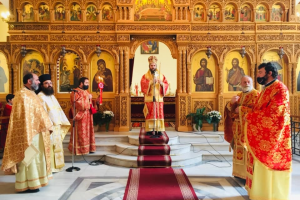 O Ευαγγελισμός της Θεοτόκου στην Εκκλησία της Αλβανίας…