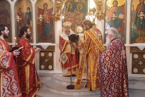 Η εις διάκονο χειροτονία του π. Γεωργίου Γιαπατζή  από τον Σεβ. Μητροπολίτη Εδέσσης κ. Ιωήλ