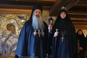 Ενθρονίστηκε η νέα Ηγουμένη της Ι. Μονής Ρουσάνου Μετεώρων