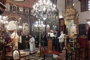Ο εορτασμός της Κυριακής της Ορθοδοξίας στην Ι. Μ. Καρυστίας