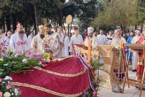 Η Εξόδιος Ακολουθία του μακαριστού Επισκόπου πρ. Ερζεγοβίνης Αθανασίου