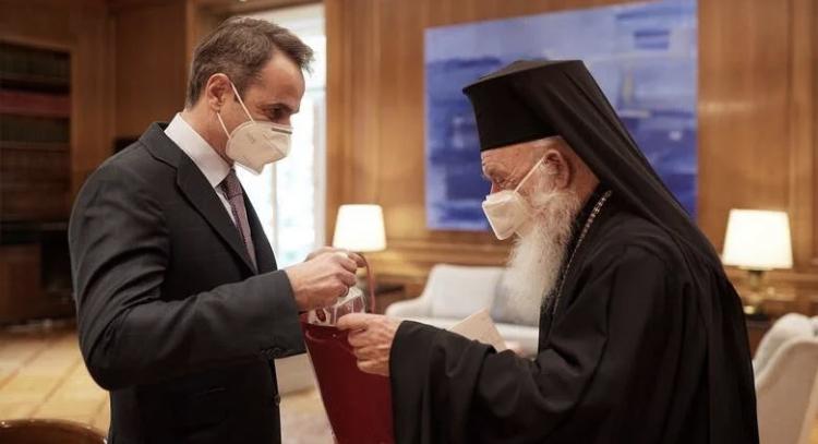 Η επίσκεψη του Αρχιεπισκόπου στο Μαξίμου δεν ήταν ούτε εθιμοτυπική,ούτε ρουτίνας..