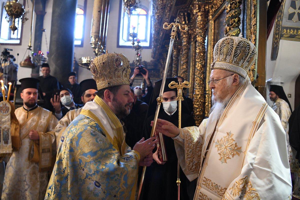 Η εορτή του Ευαγγελισμού και δύο χειροτονίες στο Φανάρι- Του Προύσης Ιωακείμ και του Αρχιγραμματέως Γρηγορίου