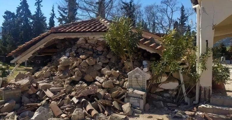 Σεισμός 6,3 Ρίχτερ χτύπησε την Ελασσόνα-Κατέρρευσε εκκλησία – Στους δρόμους οι κάτοικοι
