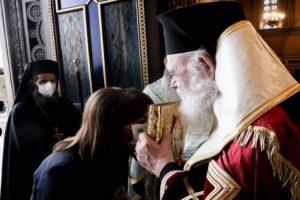 25η Μαρτίου: Δοξολογία στην Μητρόπολη Αθηνών παρουσία της ΠτΔ