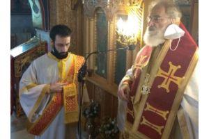 Στον Άγιο Νέστορα Θεσσαλονίκης λειτούργησε ως ιερεύς ο Μητροπολίτης Αρκαλοχωρίου Ανδρέας