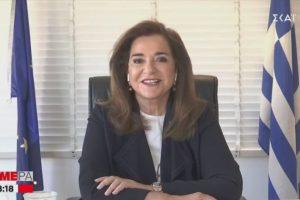 """Ντόρα Μπακογιάννη: """"Κανείς δεν θα με κρατήσει μακριά από την Κρήτη το Πάσχα"""""""