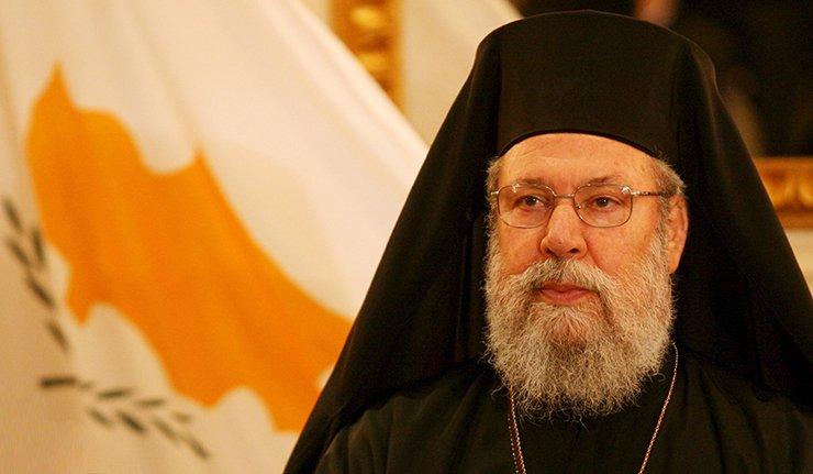 """You are currently viewing Πνευματικό κάλεσμα Κύπρου Χρυσοστόμου: """"Να εντείνουμε την προσευχή μας ιδιαίτερα αυτή την εβδομάδα"""""""