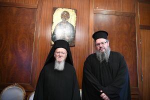 Γράμμα συμπαθείας της Α.Θ. Παναγιότητος, του Οικουμενικού Πατριάρχου στον Μητροπολίτη Λαρίσης