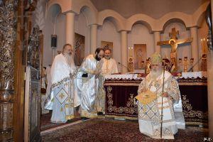 Αρχιερατική Θεία Λειτουργία και Χειροτονία στον Ι.Κ.Ν.Τιμίου Προδρόμου Νεαπόλεως