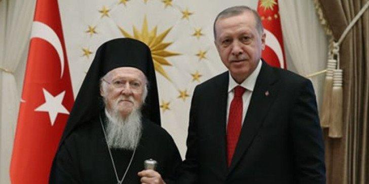 Ο Βαρθολομαίος βλέπει Ερντογάν στην Άγκυρα στην φιέστα που διοργάνωσε με φόντο τα …ανθρώπινα δικαιώματα