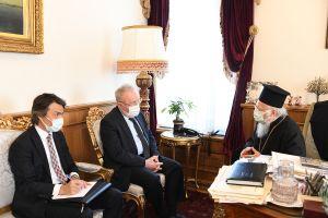Επίσκεψη με νόημα του νέου πρέσβη της Τουρκίας στις ΗΠΑ στον Οικουμενικό Πατριάρχη